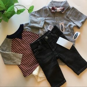 Old Navy Matching Sets - NWT Old Navy baby boy's dressy bundle